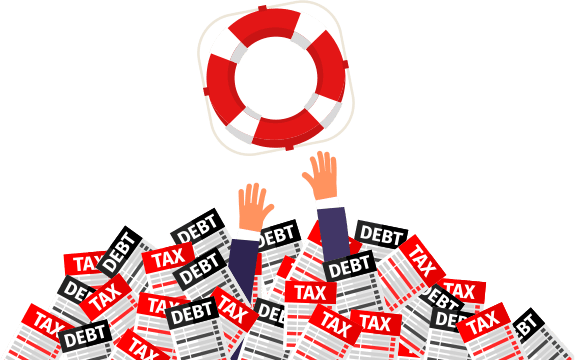 consolidating debts into one monthly payment